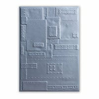 Sizzix - Tim Holtz - Alterations Collection - 3D Texture Fades - Embossing Folder - Foundry