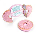 Sizzix - Making Happy Happen Collection - Thinlits Die - Card, Donut Fold-a-Long