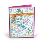 Sizzix - Cards That Wow Collection - Thinlits Die - Stars