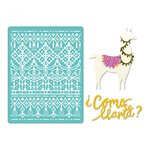 Sizzix - Thinlits Die and Embossing Folder - Como se Llama