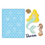Sizzix - Thinlits Die and Embossing Folder - Dream Mermaid