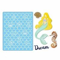 Sizzix - Thinlits Die and Embossing Folder - Dream Mermaid