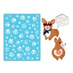 Sizzix - Thinlits Die and Embossing Folder - Corgis