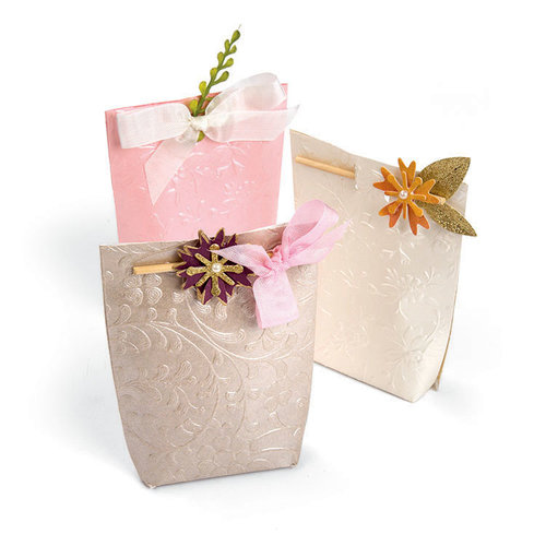Sizzix - Bloom and Blossom Collection - Bigz Die - Box, Floral Gift