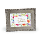 Sizzix - Bloom and Blossom Collection - Clear Acrylic Stamps - Blooming Sentiments