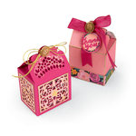 Sizzix - Let's Celebrate Collection - Thinlits Die - Box, Moroccan Lace
