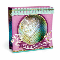 Sizzix - Let's Celebrate Collection - Thinlits Die - Shadow Box, Mini