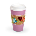 Sizzix - Let's Celebrate Collection - Bigz Die - Sleeve, Coffee Cup