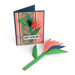 Sizzix - Tropicool Vibes Collection - Framelits Die - Bird of Paradise, 2D and 3D
