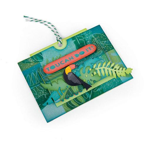 Sizzix - Tropicool Vibes Collection - Framelits Die - Card, Tropicool Slider