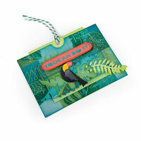 Sizzix - Tropicool Vibes Collection - Framelits Die - Card, Tropicool Slider