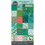 Sizzix - Tropicool Vibes Collection - 6 x 12 Cardstock Pad