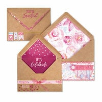 Sizzix - Envelope Liners Collection - Framelits Die - Envelope Liners, A2 & A7