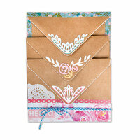 Sizzix - Envelope Liners Collection - Thinlits Die - Envelope Corners