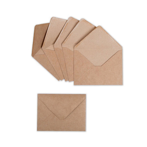 Sizzix - Envelope Liners Collection - Envelopes, A2, 6 Kraft