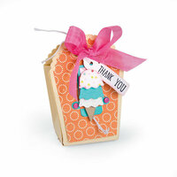 Sizzix - Thinlits Die - Bag, Favor with Scallop Top