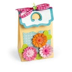 Sizzix - Thinlits Die - Box, Favor with Bracket Flap