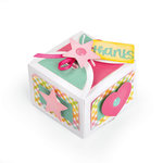 Sizzix - Thinlits Die - Box, Favor with Thanks