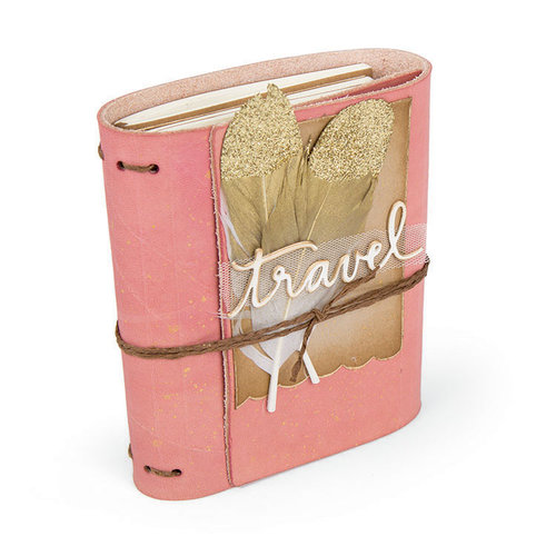 Sizzix - Book Club Collection - ScoreBoards XL Die - Wrapped Journal