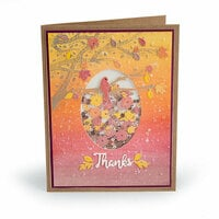 Sizzix - Impresslits - Embossing Folder - Changing of the Seasons