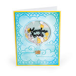 Sizzix - Impresslits - Embossing Folder - Hot Air Balloon