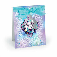 Sizzix - Impresslits - Embossing Folder - Made with Love