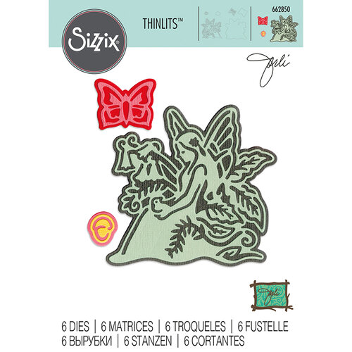 Sizzix - Thinlits Die - Fairy 3