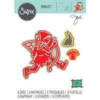 Sizzix - Thinlits Die - Fairy 6
