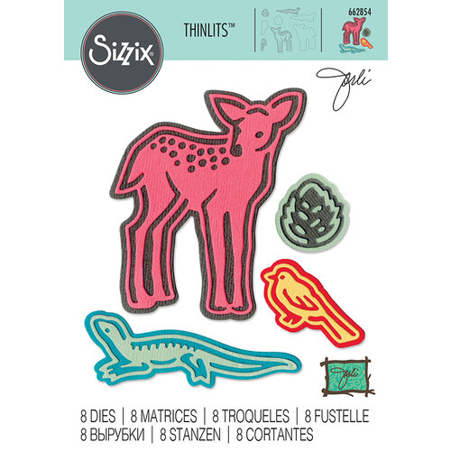 Sizzix - Thinlits Die - Fairy Animals
