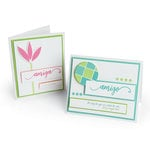 Sizzix - Celebrating Life Collection - Thinlits Die - Girl Friend and Boy Friend