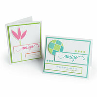 Sizzix - Celebrating Life Collection - Thinlits Die - Amiga and Amigo