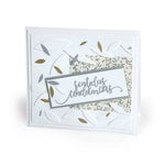 Sizzix - Celebrating Life Collection - Thinlits Die - Sincere Condolences