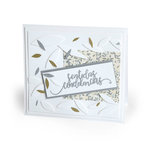 Sizzix - Celebrating Life Collection - Thinlits Die - Sentidas Condolencias Sincere Condolences