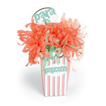 Sizzix - Celebrating Life Collection - Bigz Plus Die - Caja de Palomitas Popcorn Box