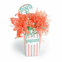 Sizzix - Celebrating Life Collection - Bigz Plus Die - Popcorn Box