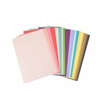 Sizzix - Making Essentials Collection - Cardstock Sheets - 80 Sheets
