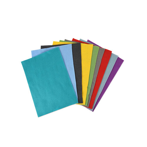 Sizzix - Making Essentials Collection - Accessory - Felt Sheets - Bold