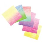 Sizzix - Watercolor Wash Sheets - 6 x 6 - 12 Sheets
