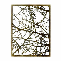 Sizzix - Tim Holtz - Alterations Collection - Halloween - Thinlits Die - Tangled Twigs