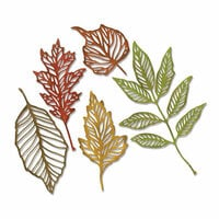 Sizzix - Tim Holtz - Alterations Collection - Thinlits Die - Skeleton Leaves