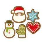 Sizzix - Tim Holtz - Alterations Collection - Christmas - Thinlits Die - Fresh Baked 1