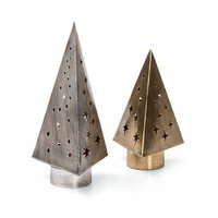Sizzix - Tim Holtz - Alterations Collection - Christmas - Thinlits Die - Tree Light