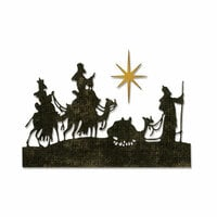 Sizzix - Tim Holtz - Alterations Collection - Thinlits Die - Wise Men