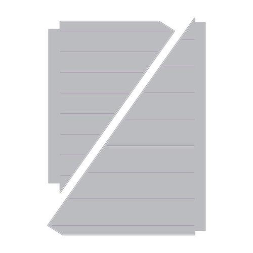 Sizzix - Celebrations Collection - Thinlits Die - Fan Leaf