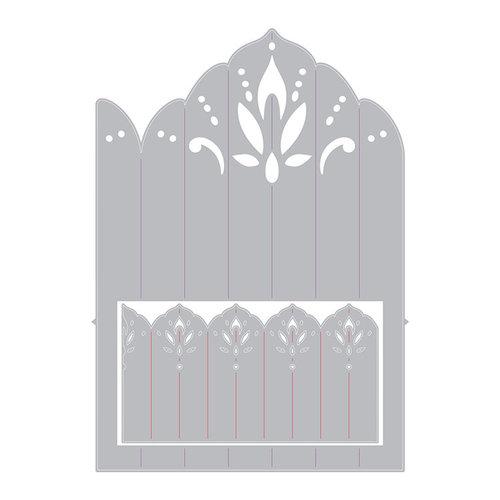 Sizzix - Celebrations Collection - Thinlits Die - Mandala Fan