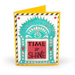 Sizzix - My Happy Life Collection - Thinlits Die - Time to Shine Shrine