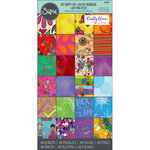 Sizzix - My Happy Life Collection - 6 x 12 Cardstock Pad - Two
