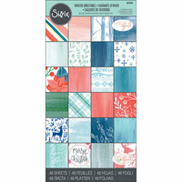 Sizzix - Winter Greetings Collection - 6 x 12 Paper Pad