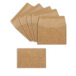 Sizzix - Winter Greetings Collection - Envelopes, Mini, Kraft