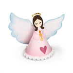 Sizzix - Holiday Blessings Collection - Thinlits Die - Angel, 3D